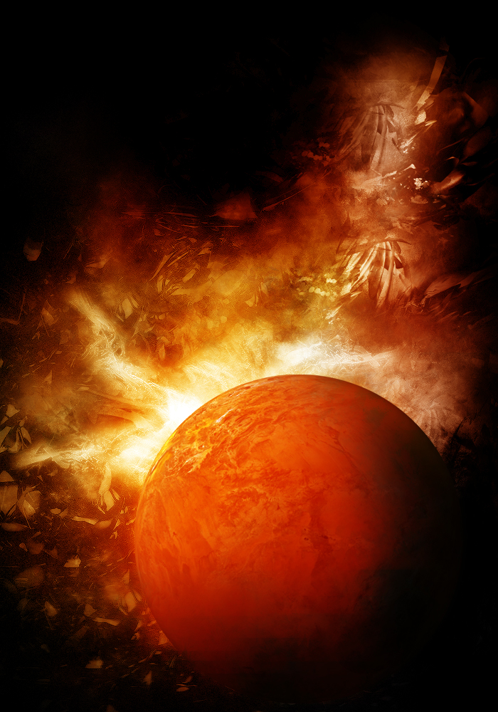 First Earth-Like Planet Found Is On Fire