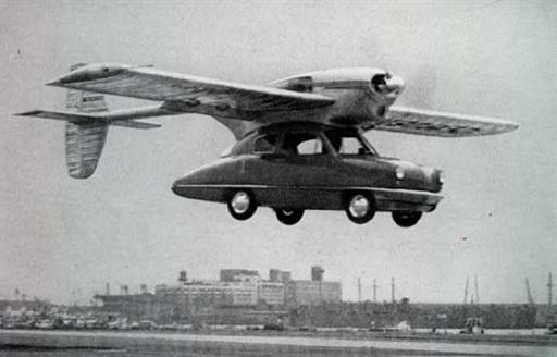 Here Come The Flying Cars!
