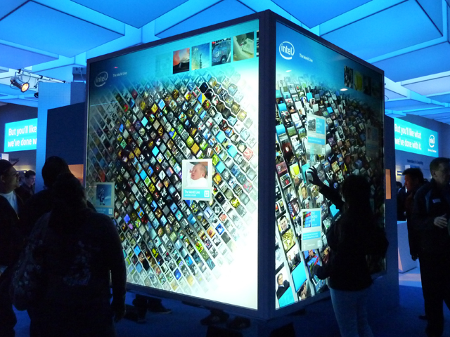 Intel's i7 Interactive Wall Brings The Trippy To CES