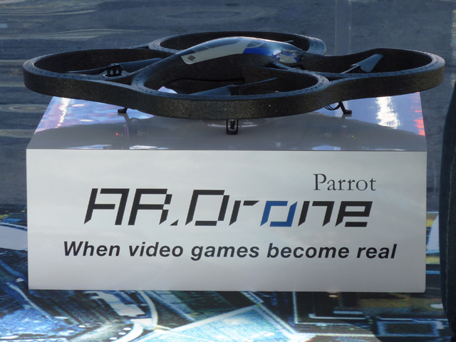 iPhone Drone Attacks At CES (Run For Your Lives)