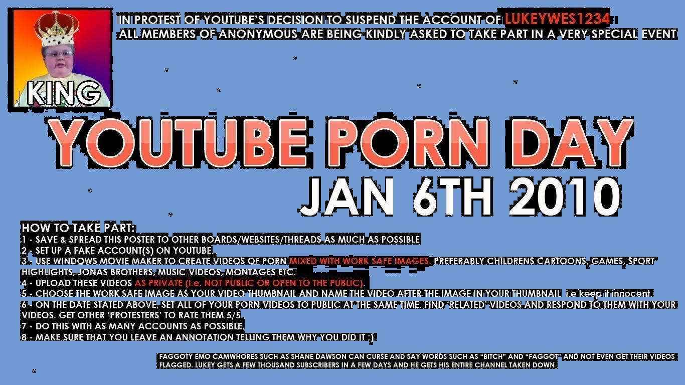 Horray! It's Youtube Porn Day!