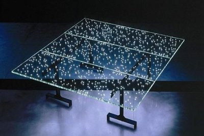 LED Table Makes For Light Meals
