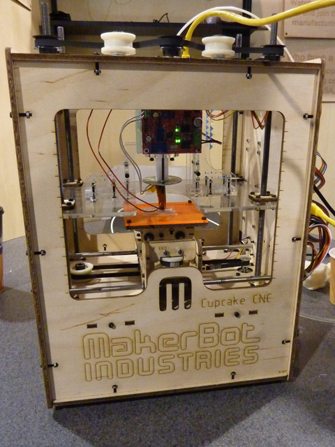MakerBot's 3-D Printer New Star Of DIY Tech