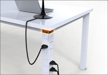 PowerPOST Upturns The Old Fashioned Power Strip