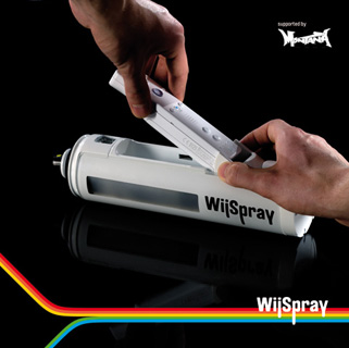 Create Digital Graffiti With WiiSpray