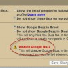 Shut off the Buzz With New Google Buzz Settings