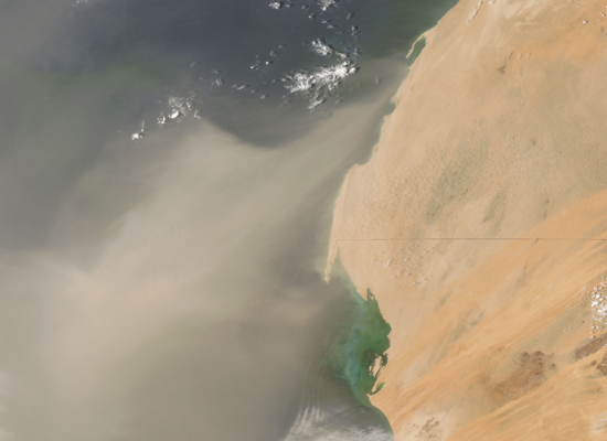 Wind Blows Nutritious African Dust To Hawaii