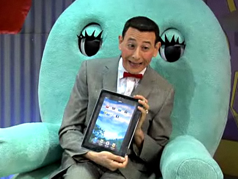 Pee-Wee's iPad & Funny or Die's New HBO Show