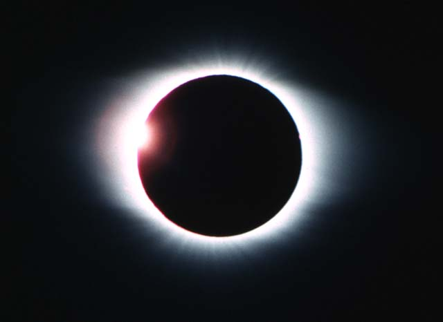Satellite Spots Solar Eclipse From Space