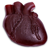 Valentines For Zombies: Bloody Gummy Heart