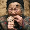 Goat Woman Of China Epitome Of Health