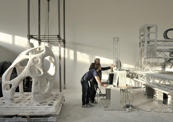 3D Printer Can Print Entire Buildings