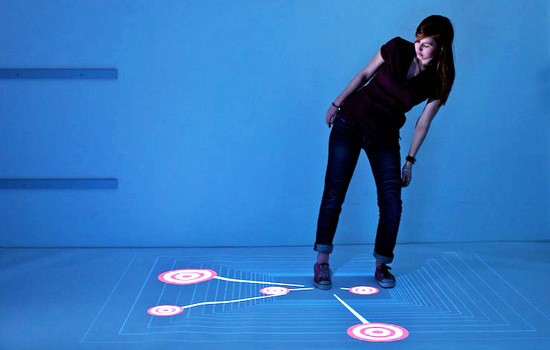 Multitouch Floor Lets You Dance With Your Apps
